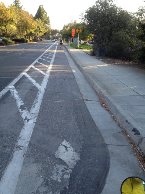 Buffered Bike Lane