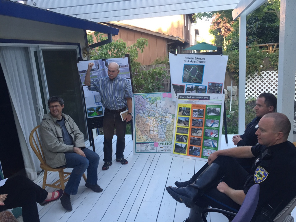 Greg shares ideas for how to get Mountain View to adopt Vision Zero, an initiative with the goal of no traffic deaths